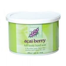 Clean&Easy Body Hard Wax Acai Berry 396g