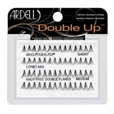 Ardell Double Up Individuals Knot-Free Short/Medium Combo Пучковые ресницы