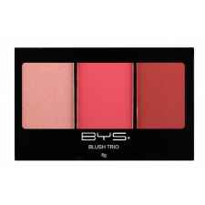 BYS Палетка румян Trio Very Berry RASPBERRY RED