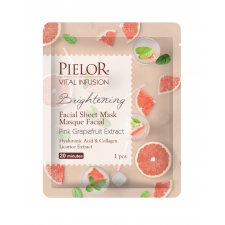 Pielor Vital Infusion Facial Sheet Mask Brightening 25ml