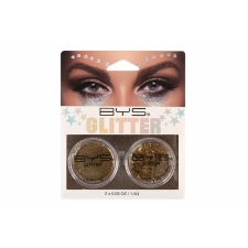 BYS Loose Glitter 2 Pack GOLD