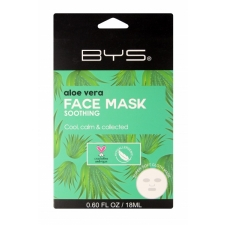 BYS Face Mask Cloth Aloe Vera 18ml