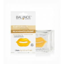 Balance Lip Masks Gold Collagen Hydrogel 2 masks 6 g