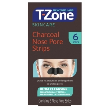 Newtons Labs T Zone Charcoal Nose Pore Strips 6 pc