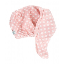 The Vintage Cosmetic Company turbanrätik Pink Polka Dot