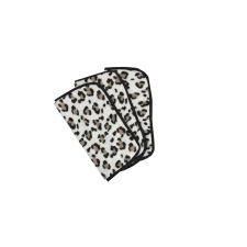 The Vintage Cosmetic Company Make-up Removing Cloths Leopard Print