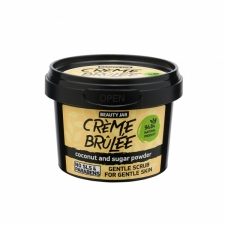 Beauty Jar Face Scrub Creme Brulée 120g