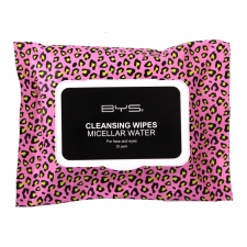 BYS GONE WILD Collection Cleansing Wipes MICELLAR Water 25pc