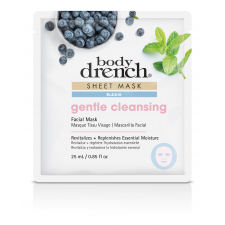 Body Drench Sheet Mask Gentle Cleansing Pink Bubble