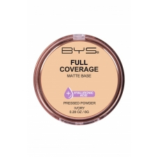 BYS Pressed Powder Full Coverage Ivory