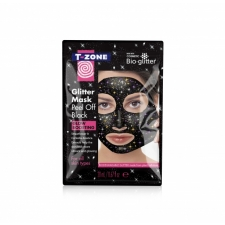TZone Peel Off Glitter Black Mask 20ml