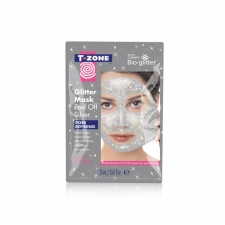T Zone Peel Off Glitter Silver Mask 20ml