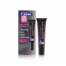 T Zone Clearing Mud Night Treatment Charcoal and Bamboo 15ml