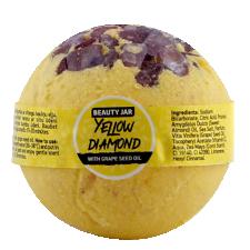 Beauty Jar Bath Bomb Yellow Diamond 150g