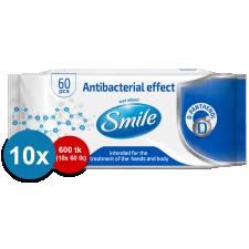 Smile Aнтибактериальные влажные салфетки 60 шт/10