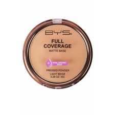 BYS Pressed Powder Full Coverage Light Beige