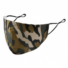 BYS Kids Face Mask 3 Layer Camo
