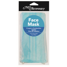 BYS Face mask 3ply 3pc