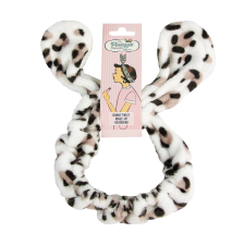 The Vintage Cosmetic Company peapael Bunny Twist Leopard Print