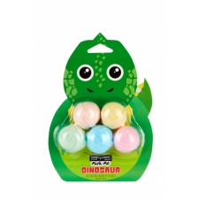 BYS MINI ME Bath Fizzies Dinosaur 5pc