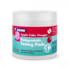 T Zone Skincare Биоразлагаемые тонизирующие очищающие подушечки Apple Cider Vinegar 60шт