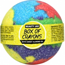 Beauty Jar Kylpypallo Box of Crayons 150g