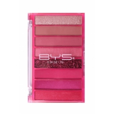 BYS Eyeshadow Palette Transparent Pink 8pc