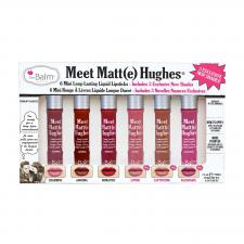 theBalm Meet Matte Hughes Pitkäkestoinen nestemäinen huulipuna Mini Kit 3