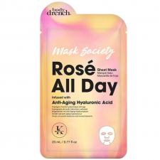 Body Drench Тканевая маска Rose All Day with Hyaluronic Acid