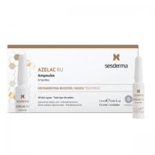 Sesderma Azelac Ru Ampoules Depigmenting Booster Pigmenttiläiskien vastaiset ampullit 10pc