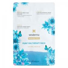 Sesderma Beauty Treats Purifying Therapy Mask Puhdistava naamio 3 vaihetta 27ml