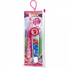 My Little Pony Travel kit Toothbrush cap and paste pink