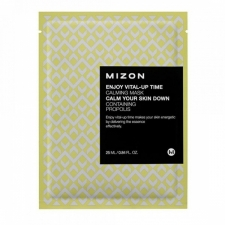 Mizon Enjoy Vital Up Time Calming Mask Успокаивающая тканевая маска с экстрактом прополиса 25мл