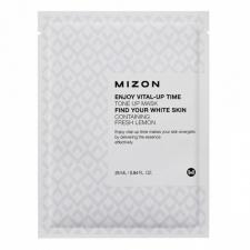 Mizon Enjoy Vital Up Time Tone Up Mask Осветляющая тканевая маска 25мл