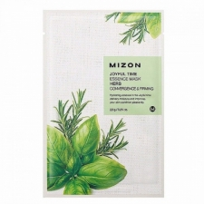 Mizon Joyful Time Essence Mask Herb Тканевая маска с травяными экстрактами 23г