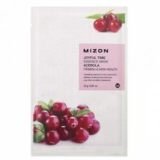Mizon Joyful Time Essence Mask Acerola Тканевая маска с ягодами ацеролы 23г