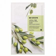 Mizon Joyful Time Essence Mask Olive Тканевая маска с экстрактом оливы 23г