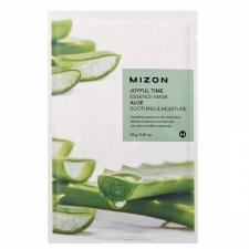 Mizon Joyful Time Essence Mask Aloe Успокаивающая увлажняющая тканевая маска с экстрактом алоэ 23г