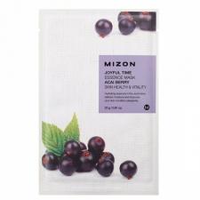 Mizon Joyful Time Essence Mask Acai Berry Тканевая маска с экстрактом ягод асаи 23г