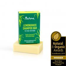 Nurme Lemongrass Shampoo Bar for sensitive sculp 100g