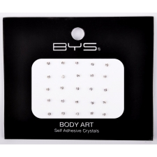 BYS Body Art Self Adhesive Crystals Clear Small