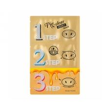 Holika Holika Pig Nose Clear Blackhead 3 Step Kit Honey Gold 8g