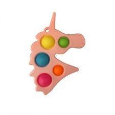 Pop Fidget Toy Keyring Unicorn