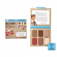 theBalm Eyeshadow Palette Male Order First Class Male