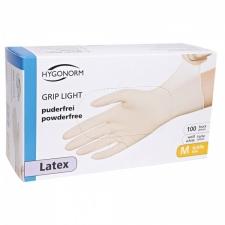 Перчатки латексные Grip Light без пудры 100шт S
