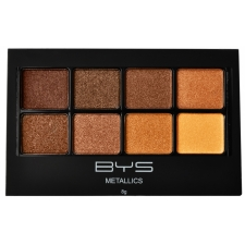 BYS Eyeshadow 8 pc METALLICS BROWNS