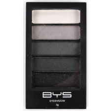 BYS Eyeshadow 5 pc BLACK STEEL