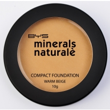 BYS Minerals Naturale Foundation Compact Warm Beige