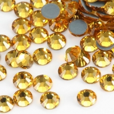 Feel Good Rhinestone Topaz (Gold)