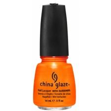 China Glaze Nail Polish Orange You Hot?